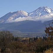 Mt Shasta Autumn II Poster