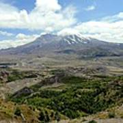 Mt St Helens 3 Poster