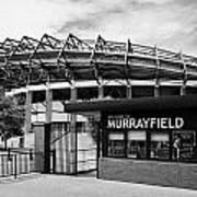 Murrayfield Stadium Edinburgh Scotland Uk United Kingdom Poster by Joe Fox