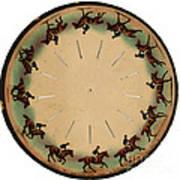 Muybridge Zoopraxiscope Horse Poster