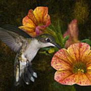 Mystical Flight Poster