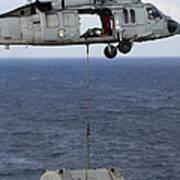 N Mh-60s Sea Hawk En Route Poster
