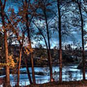 Napanee River At Dawn Poster