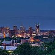Nashville Cityscape 7 Poster