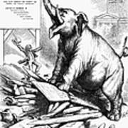 Nast: Tweed Cartoon, 1875 Poster