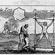 Natchez Punishment, C1725 Poster