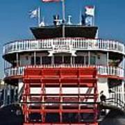 Natchez Riverboat Poster