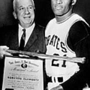 National League President Warren Giles Poster by Everett
