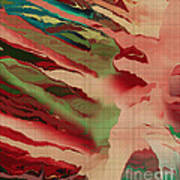 Native Abstract Weave Poster