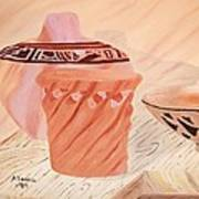 Native American Pottery Poster by Alanna Hug-McAnnally
