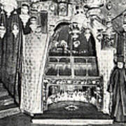 Nativity Grotto In 18th Century Poster