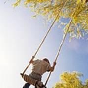 Natural Swing Poster