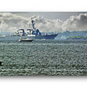 Naval Ship Poster