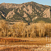 Ncar And Flatiron View Boulder Colorado   Poster