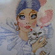 Needle Craft Poster by Joyce Woodhouse