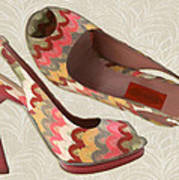 Needlepoint Peep Toes Poster