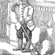 Negro Porter, 19th Century Poster