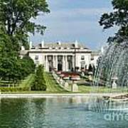 Nemours Mansion And Gardens Poster
