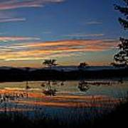 Nerepis Marsh Sunset Poster