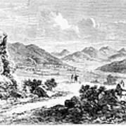 Nevada: Washoe Region, 1862 Poster