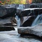 New Hampshire Waterfall 1 Poster