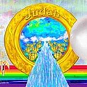 New Jerusalem Closeup - City Of God's Kingdom On Earth Poster