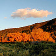 New Mexico Series - Cloud Over Autumn Poster