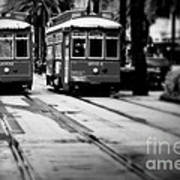 New Orleans Classic Streetcars. Poster