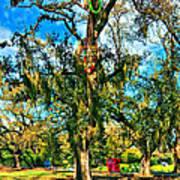 New Orleans Sculpture Park Poster
