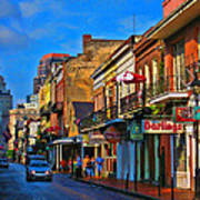 New Orleans Street Scene Poster