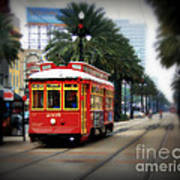 New Orleans Streetcar Poster