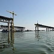 New Ulyanovsk Bridge, Russia Poster