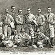 New York Baseball Team Poster