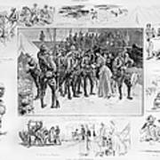 New York: Camp Wikoff, 1898 Poster