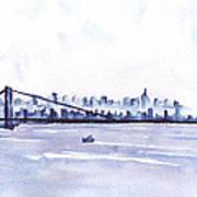 New York City Blues Poster