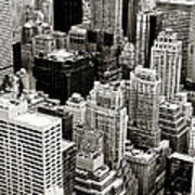 New York City From Above Poster