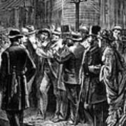 New York: Election, 1876 Poster
