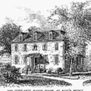 New York Mansion, 1748 Poster