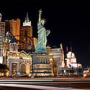 New York Ny Las Vegas Poster