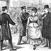 New York Police Raid, 1875 Poster