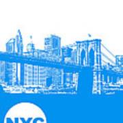 New York Poster Poster by Naxart Studio