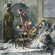 New York: Poverty, 1876 Poster by Granger