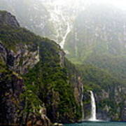New Zealand's Milford Sound Poster