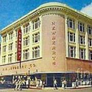 Newberry's Department Store In El Paso Tx In The 1950's Poster