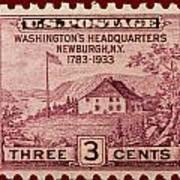Newburgh Ny Postage Stamp Poster