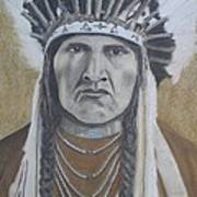 Nez Perce American Native Indian Poster by David Hawkes