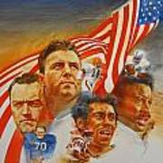 Nfl Hall Of Fame 1984 Game Day Cover Poster