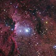 Ngc 6188, Starforming Region In Ara Poster