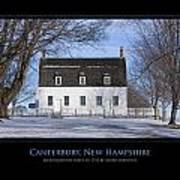 Nh Meetinghouse Poster by Jim McDonald Photography