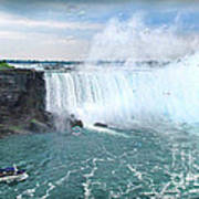 Niagara Falls And The Bubbles Poster